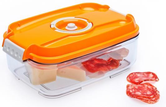 Контейнер для вакуумного упаковщика Status VAC-REC-14 оранжевый контейнер для вакуумного упаковщика status vac rec 20 красный