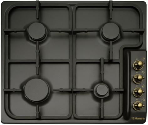 Варочная панель газовая Hansa BHGA62039 черный газовая варочная панель hansa bhga62039 bhga62039