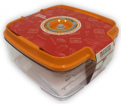 Контейнер для вакуумного упаковщика Status VAC-SQ-20 оранжевый