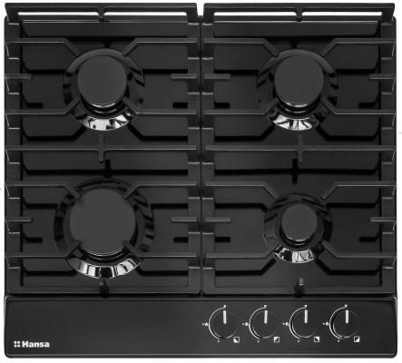 Варочная панель газовая Hansa BHGS63030 черный