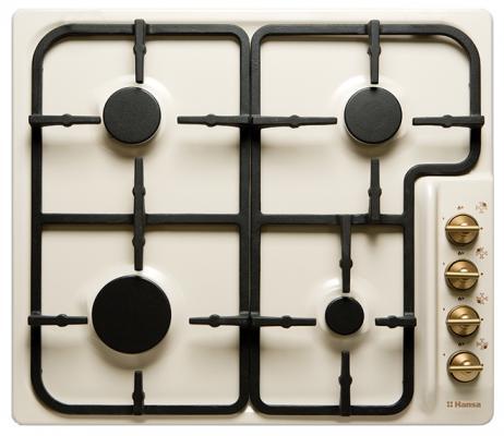 Варочная панель газовая Hansa BHGY 62059 бежевый