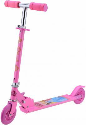 Купить Самокат 1TOY Disney Принцессы розовый, Двухколесные самокаты для детей