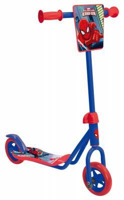 Самокат 1TOY Marvel: Человек-паук синий 8887856584142
