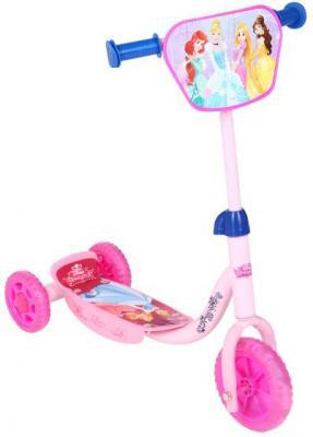 Купить Самокат Disney Принцессы розовый, Трехколесные самокаты для детей