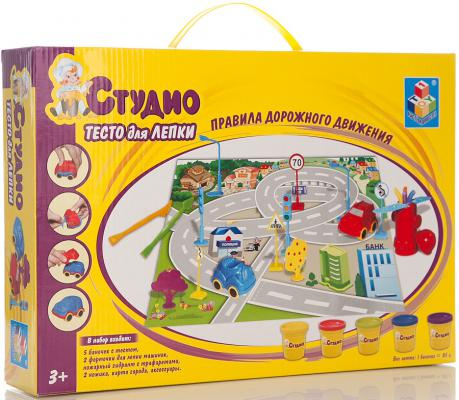 Набор теста для лепки 1 Toy с трафаретами Пдд   Т56445