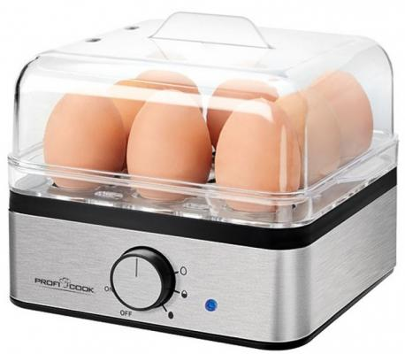 Яйцеварка ProfiCook PC-EK 1084 серебристый 400 Вт яйцеварка proficook pc ek 1139 400 вт серебристый