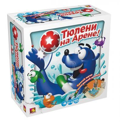 Настольная игра Asmodee развивающая Тюлени на арене JАСТ08Ru настольная игра asmodee таймлайн избранное