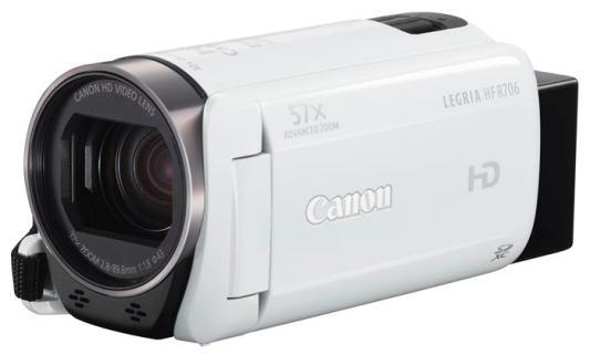 Цифровая видеокамера Canon LEGRIA HF R706 белый