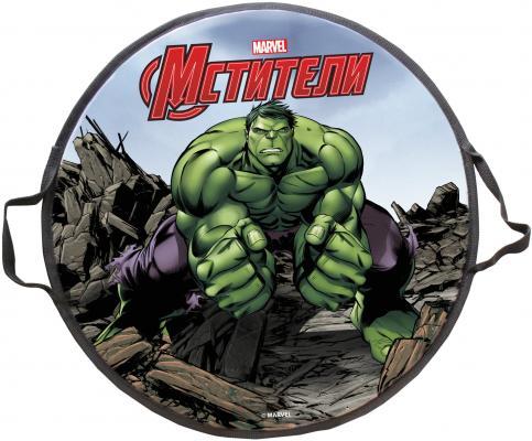 Ледянка 1toy Marvel: Hulk до 100 кг рисунок пластик Т58170 круглая