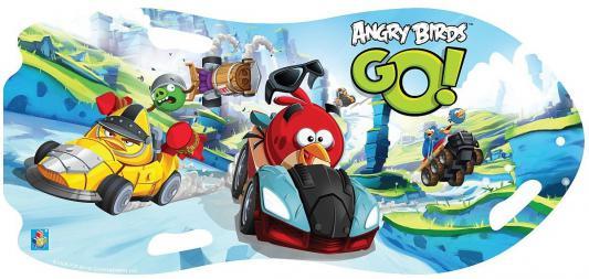 Ледянка 1toy Angry Birds для двоих до 150 кг голубой ПВХ Т57214