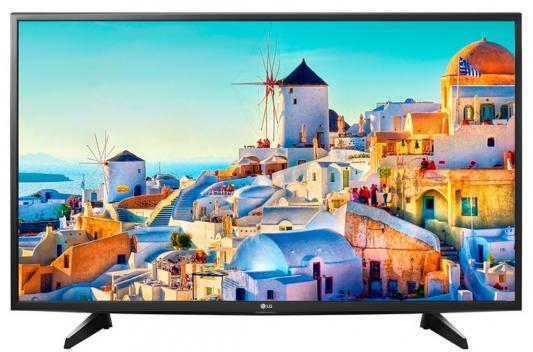 Телевизор LG 43UH610V черный