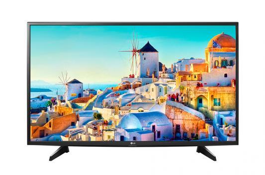 Телевизор LG 49UH610V черный