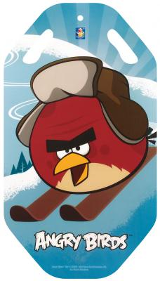 Ледянка 1Toy Angry Birds голубой пластик Т57212 ледянка 1toy angry birds 72х41 см прямоугольная т59206