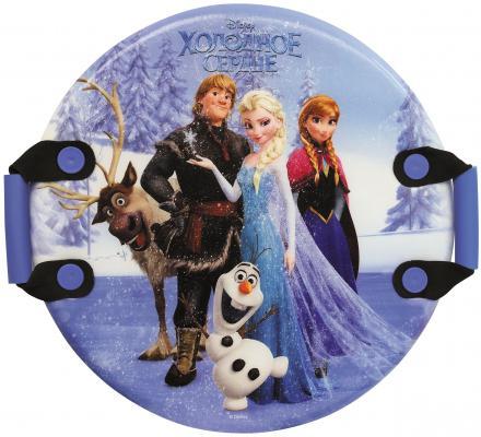 все цены на Ледянка 1Toy Disney: Холодное сердце до 150 кг рисунок пластик Т57259 круглая онлайн