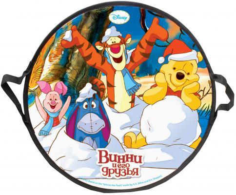 Ледянка 1toy Disney Винни-Пух разноцветный ПВХ Т58164 самокат 1toy винни пух т59546