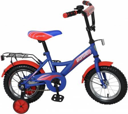 Велосипед Navigator Basic 12 красно-синий ВН12089 велосипед двухколесный navigator superman 12 вн12100