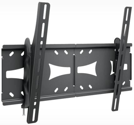 цена на Кронштейн Holder LCDS-5071 черный для ЖК ТВ 37-55 настенный от стены 63мм наклон +3? – 15? VESA 200x200 до 45кг
