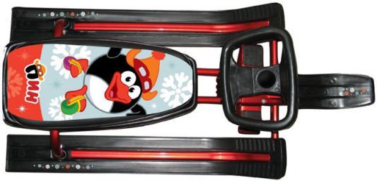 Снегокаты Navigator Смешарики с гудком до 55 кг красный металл пластик СН90296