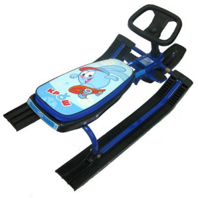 Снегокаты Navigator Смешарики с гудком до 55 кг голубой металл пластик СН90295