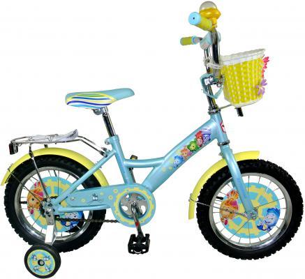 """Велосипед Навигатор Фиксики 16"""" голубой ВН16110К"""