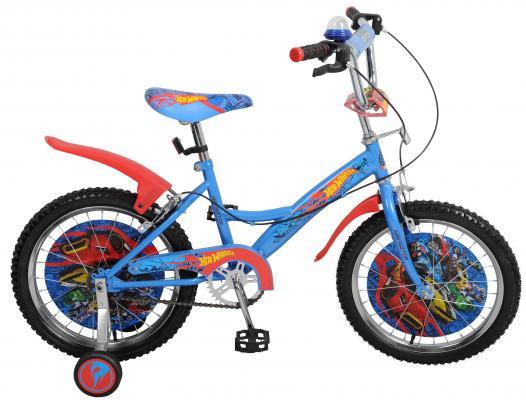 """Велосипед Навигатор Hot Wheels 18"""" голубой ВН18078"""