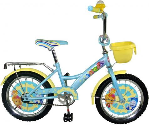 """Велосипед Навигатор Фиксики 20"""" бирюзовый ВН20161К"""