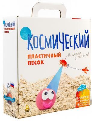 Песок 1 Toy Космический песок Розовый 1 кг с песочницей и формочками T58573