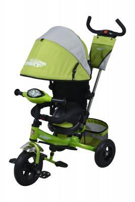 """Велосипед Navigator TRIKE с рюкзаком на ручке 10""""/8"""" зеленый"""