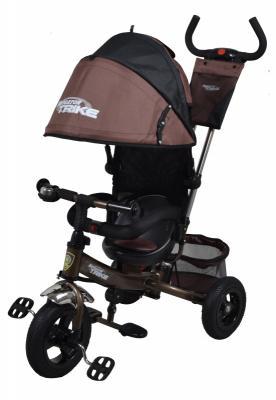 """Велосипед Navigator TRIKE с рюкзаком на ручке 10""""/8"""" коричневый"""