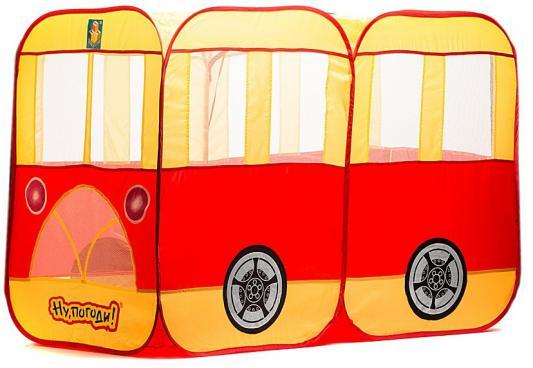 """Игровая палатка 1Toy Автобус """"Ну погоди!"""" Т52672"""