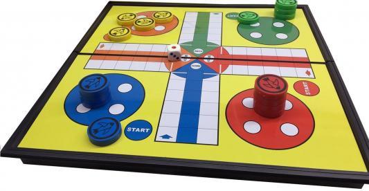 Настольная игра 1Toy семейная Лудо Т58207