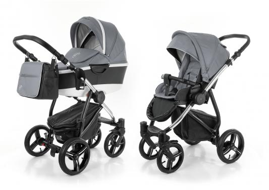 Коляска 2-в-1 Esspero Newborn Lux 2016 Alu (шасси chrome/grey)