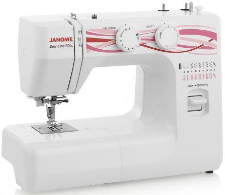цена на Швейная машина Janome 500s белый