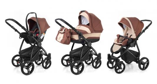 Коляска 3-в-1 Esspero Newborn Lux (шасси black/brown beige)