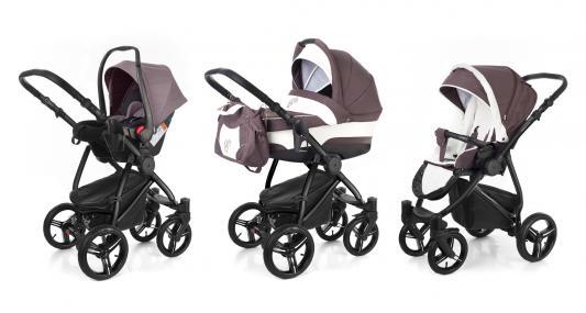 Коляска 3-в-1 Esspero Newborn Lux (шасси black/brown lux)