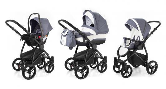 Коляска 3-в-1 Esspero Newborn Lux (шасси black/grey lux)
