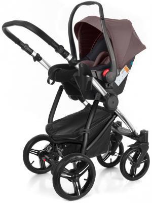 Коляска 3-в-1 Esspero Newborn Lux (шасси chrome/brown lux)