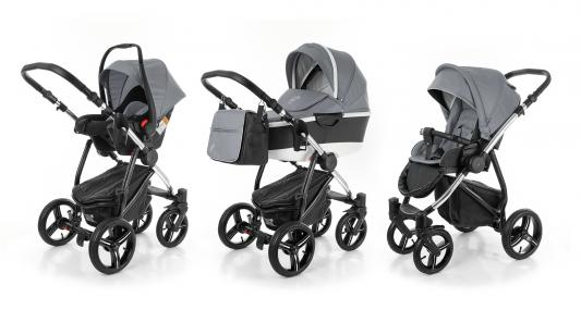 Коляска 3-в-1 Esspero Newborn Lux Alu (шасси chrome/grey)
