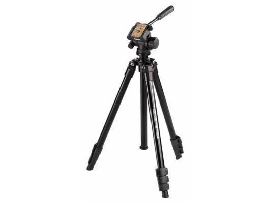 Штатив Hama Delta 3D Pro 160 напольный черный Н-4402 штатив hama star black 153 3d напольный черный 00004469