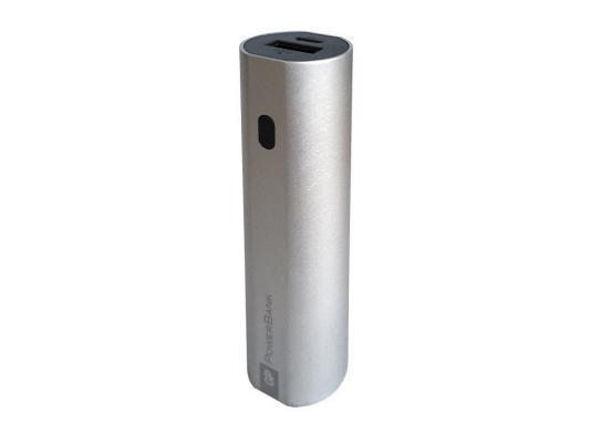 Внешний аккумулятор GP Portable PowerBank FN03M 3000mAh серебристый внешний аккумулятор apc m3rd ec 3000mah красный