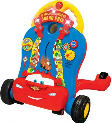 Каталка-ходунок Kiddieland Молния Маккуин разноцветный от 9 месяцев пластик KID 051128 каталка kiddieland маккуин kid 051128