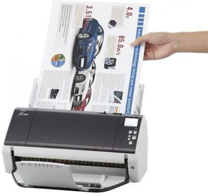 Сканер Fujitsu fi-7480 протяжный А3 600x600 dpi CCD 160ppm USB PA03710-B001 сканер fujitsu fi 6110