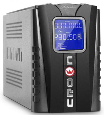 ИБП Crown CMU-800IEC LCD 800VA/450W