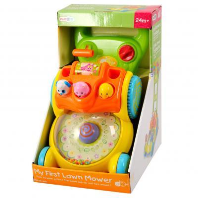 Каталка Playgo Забавная газонокосилка разноцветный от 2 лет пластик 4892401025753