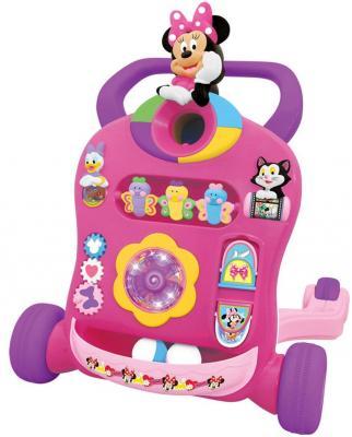 "Каталка-ходунок Kiddieland ""Минни Маус"" разноцветный от 1 года пластик 661148510945"