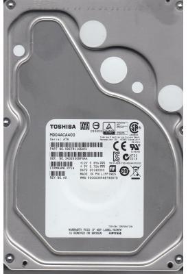 "Жесткий диск 3.5"" 4Tb 7200rpm Toshiba SATAIII MD04ACA400"