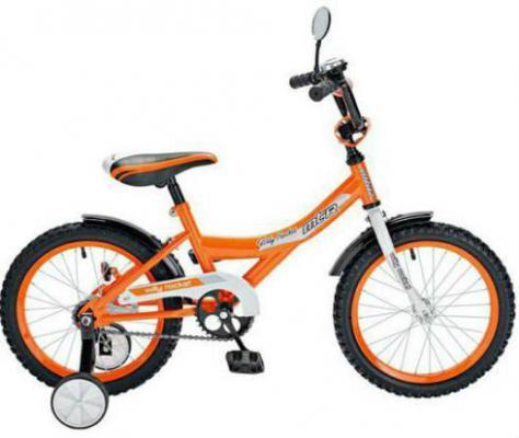 """Велосипед R-Toys Rocket 14"""" 12"""" оранжевый KG1610"""