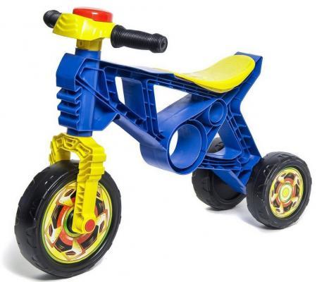 Каталка-беговел RT Самоделкин с клаксоном синий ОР171/5262 каталка беговел rt самоделкин пластик от 1 года на колесах бирюзовый