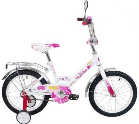 """Велосипед RT Black Aqua Фея 12"""" розовый ВА-1225"""