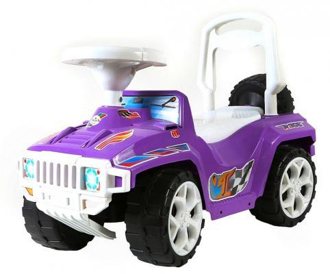 Каталка-машинка R-Toys Race Mini Formula 1 фиолетовый от 10 месяцев пластик ОР419
